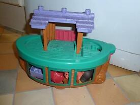 Fisher price little people Noah's ark .
