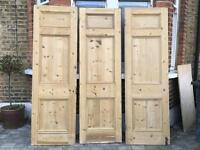 Victorian room divider doors