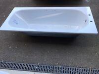 Wickes 1700x750 vitreous enamel steel bathtub
