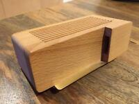 Alarm Dock Stand for iPhone 5 - Natural beech
