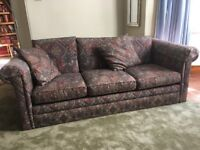 3 seater sofa to give away, Cardross