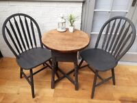 Fabulous Solid Wood Painted Chairs and Tables, Various Colours. Excellent Quality Finish.