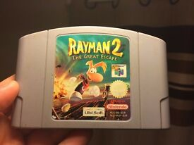 Rayman 2 The Great Escape Nintendo 64 PAL