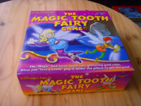 The Magic Tooth Fairy Game. Age 5 plus. By Drumond Park (Instructions included).