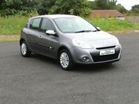 2010 RENAULT CLIO 1.2 I-MUSIC 1.2 16V 12 MONTHS M.O.T 6 MONTHS WARRANTY (FINANCE AVAILABLE)