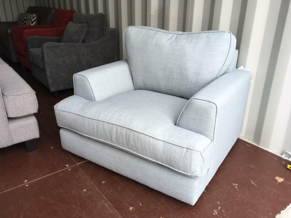 Argos Home Hampstead Fabric chair - Sky Colour (new ) | in Lincoln,  Lincolnshire | Gumtree