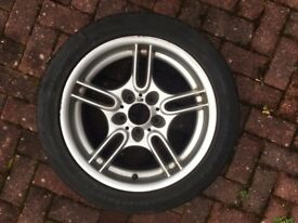 Genuine Bmw 17 inch 8j Msport alloy style 66 Very good condition.
