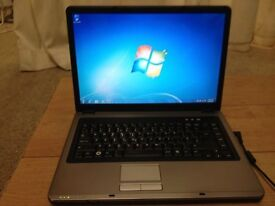 NOVATECH LAPTOP-DUAL CORE -WINDOWS 7-MS OFFICE -PERFECT WORKING-WEBCAM-WIFI-DVD-FREE DELIVERY