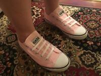 Converse all star size 7 - pink