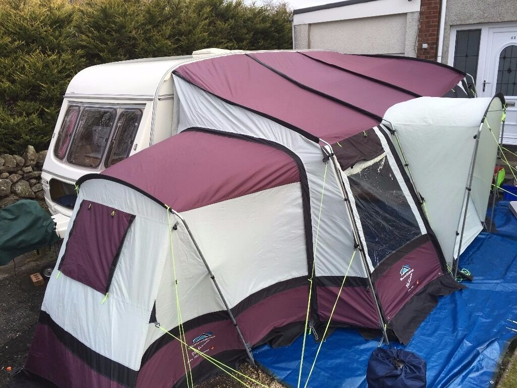 Sunncamp Platinum Mira 390 Porch Awning And Annex
