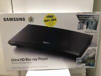Brand new Ultra HD blu-ray player