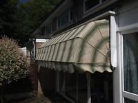 Garden/shop awning