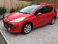 Peugeot 207sw 2008 great condition
