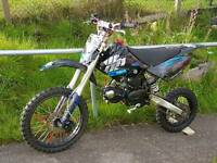 125cc Welsh pitbike crf70 frame