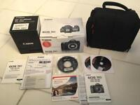 Canon EOS 70D(W) 20.2MP Digital Camera 3:2 Wide with Canon lens EF 17-40 with carry case!
