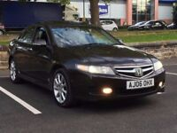 2006 HONDA ACCORD 2.4 VTEC EXECUTIVE AUTO * NAV * LEATHER * SUNROOF * F.S.H * PART EX * DELIVERY