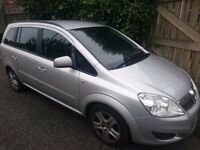 2010 VAUXHALL ZAFIRA 1.7 CDTI ECOFLEX ACTIVE 7 SEATER SILVER - GREAT CONDITION