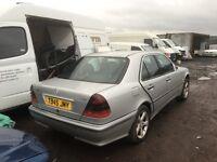 Mercedes Benz c220 cdi parts radiator ecu set wing bonnet bumper wheels