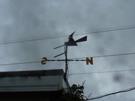 One off Witch weather vane, this was made for me as a present, but now moving.
