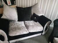 Black and silver chair