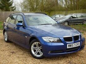 BMW 3 SERIES 320I SE TOURING 170 BHP ONE OWNER FROM NEW (blue) 2008
