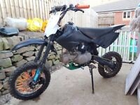 Pit bike wpb 120cc crf70 frame