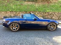 Mazda MX5 1.8 Icon - Low Miles, FMSH, Leather, BC Coilovers, JR3 Alloys, *VIDEO*