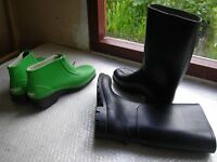Ladies Wellington Boots and ankle Boots