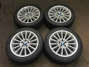 "BMW 18"" WINTER KIT !!! 2009-19 5-SERIES + 2011-18 6-SERIES !!! RIMS JANTES MAGS"