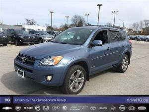 2012 Toyota RAV4 Sport (A4) | ACCIDENT FREE | LOCAL |