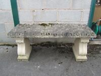 Original stone bench seat - NOT reproduction