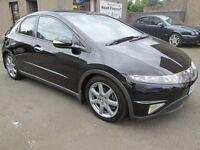 Honda Civic2.2 I-CTDI EX SAT NAV -12 MONTHS MOT, SERVICED,3 MONTHS WARRANTY & 12 MONTHS AA COVER INC