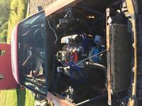 Ford Mustang drag car trade for snowmobile