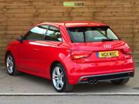Audi A1 1.4 TFSI S Line 3dr S Tronic SAT NAV PAN ROOF BLACK STYLING PACK (red) 2011