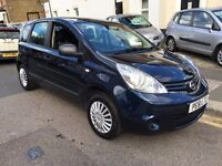 NISSAN NOTE 1.4 VISIA 2011 (61) 1 YEAR MOT NEW SERVICE LOW MILEAGE FULL SERVICE HISTORY CLEAN CAR