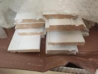 Beautiful Victorian / Edwardian style Skirting Boards 4.2m primed MDF