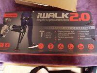 i Walk 2.0 hands free knee crutch
