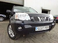 07 NISSAN X-TRAIL AVENTURA DCI DIESEL 4X4 2.2,MOT MARCH 017,2 OWNERS FROM NEW,PART SERVICE HISTORY