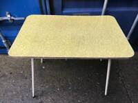 Vintage Formica kitchen table with FREE DELIVERY PLYMOUTH AREA