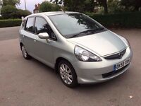 2008 HONDA JAZZ SE CVT AUTOMATIC, 1 YEAR MOT, HPI CLEAR, FINANCE AVAILABLE