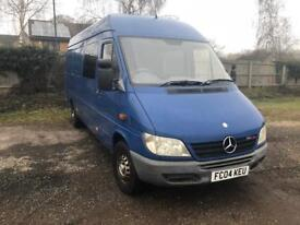 Mercedes sprinter 2004 low miles