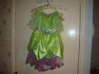 tinkerbell dress wings and shoes