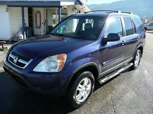 2004 Honda Cr-v EX-L  LOW KM