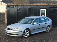★ 2007 SAAB 9-3 SPORTWAGON 1.9 TID VECTOR +150 BHP + 1/2 LEATHER +★