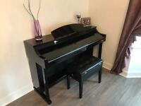 G4M 88 key digital piano gloss black
