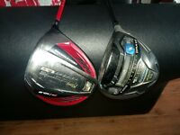 Quality Drivers for sale. Taylor made and cobra drivers . V good condition. grips. shaft. head.