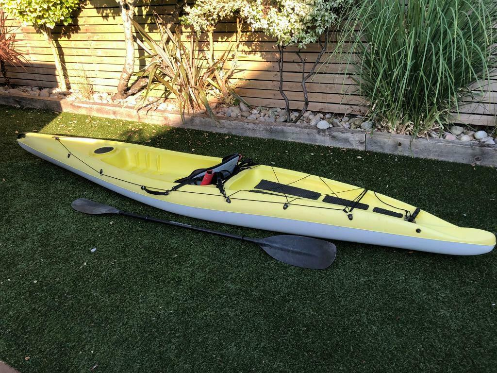 BIC Scapa kayak including BIC deluxe seat and BIC sports paddle (Sold  subject to collection)   in Christchurch, Dorset   Gumtree