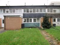 THREE BEDROOM HOUSE TO RENT ** ALCESTER ROAD SOUTH ** IDEAL FOR FAMILY ** BUSY BUS ROUTE 50 * CALL