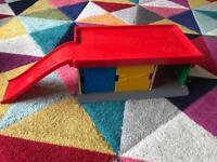 Ikea toy garage/car park, petrol station