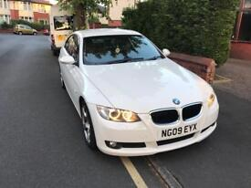 BMW 3 Series Coupe 320i Manual Petrol 2 door WHITE 2009 - QUICK SELL